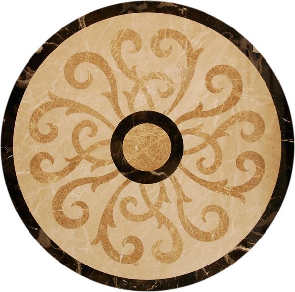 圓形拼花 - 編號:C5123