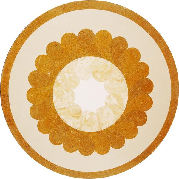 圓形拼花 - 編號:C5021B