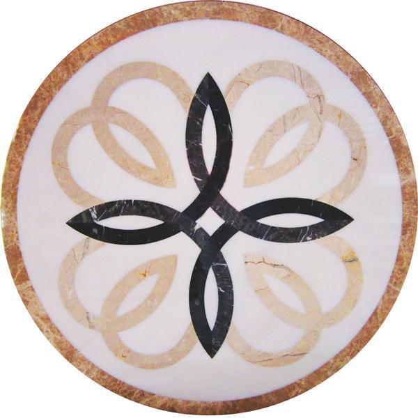 圓形拼花 - 編號:C5222