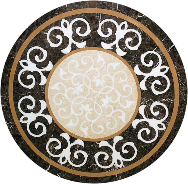 圓形拼花 - 編號:C6231