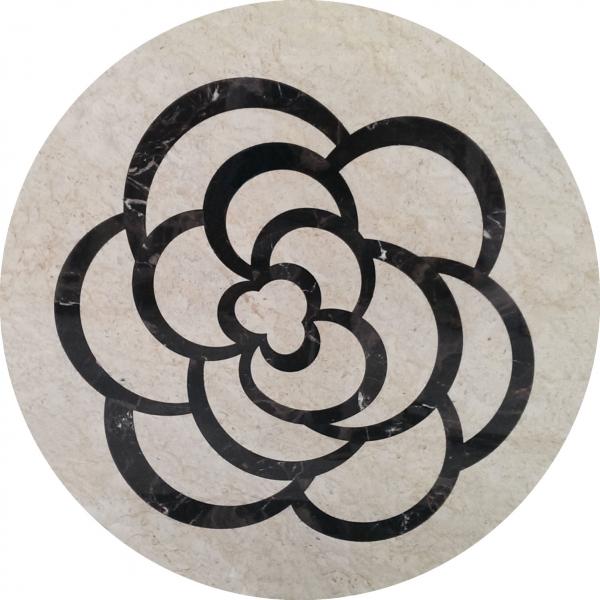 圓形拼花 - 編號:C5015
