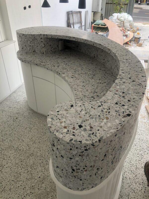水磨石檯面